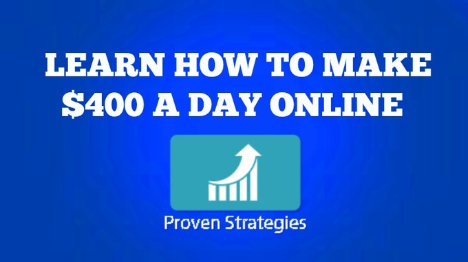 Big show you how to make 400d a day online