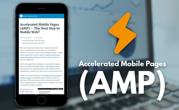 Small accelerated mobile pages amp